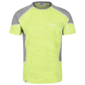 Regatta Camito Camiseta Hombre, verde/gris